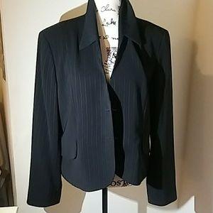 Anne Klein Pinstripe Women's Blazer